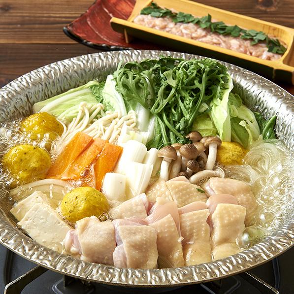 日南雞和生雞鷹嘴豆火鍋