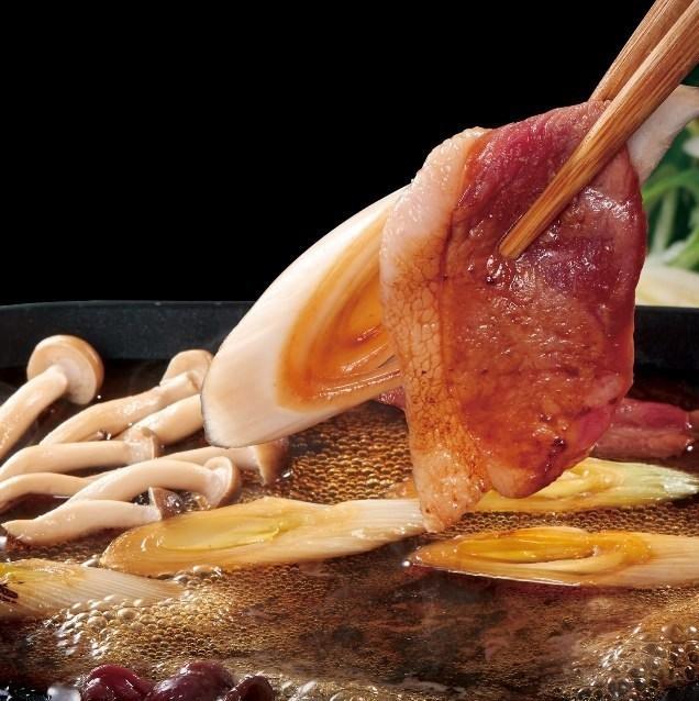 鐵板燒配鴨和大量的洋蔥