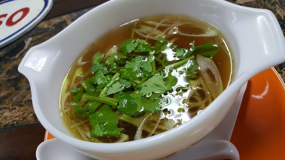 Wagyu beef tail soup