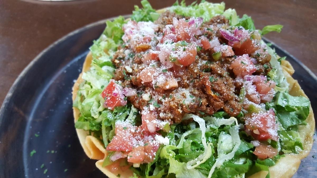 Taco Rice Tostadas