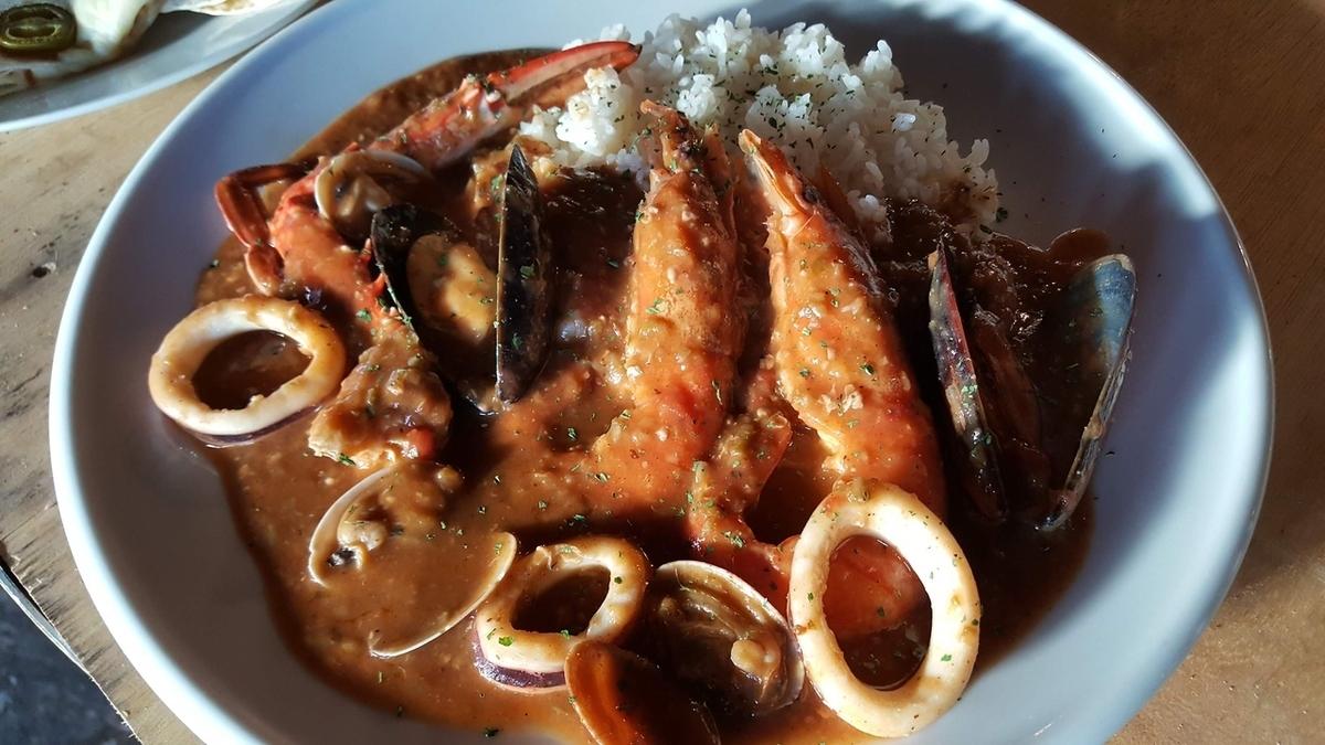 海鮮濃湯米飯