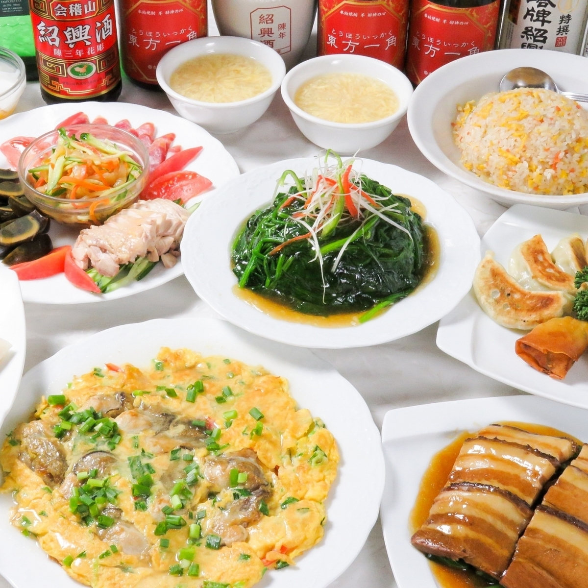 All-you-can-eat Chinese menu is 2200 yen!