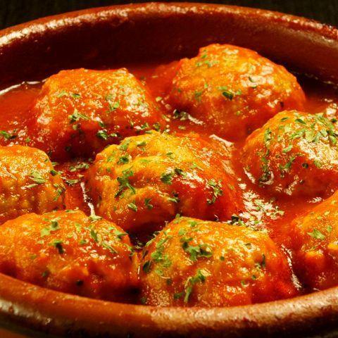 肉団子トマト煮込みアルボンディガス