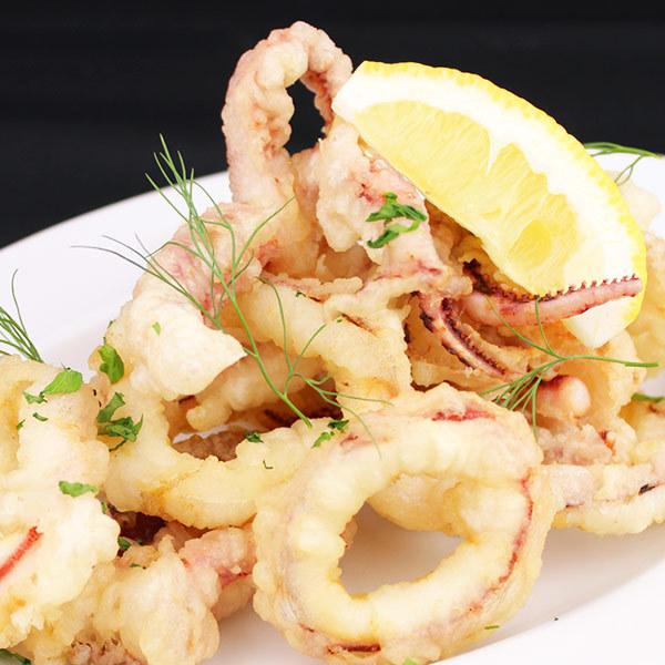Squid frit