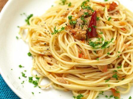 ペペロンチーノスパゲティ
