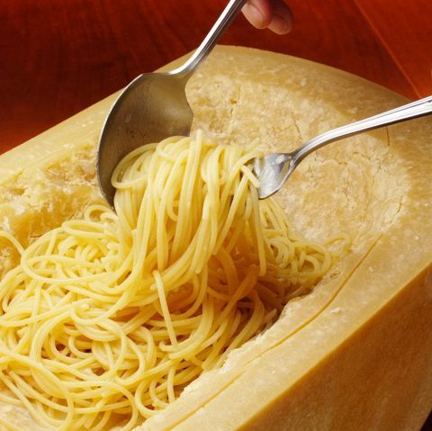 丸ごとパルミジャーノスパゲティーorリゾット
