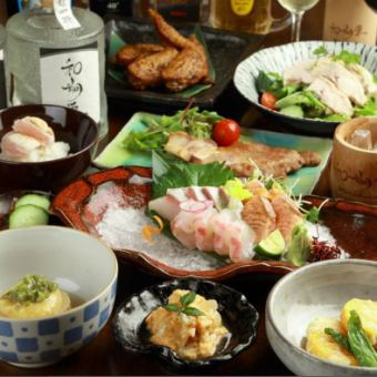 Sho course ■ ◆ Susami pig's soy sauce Koji-yaki etc. Popular gems are gathered! «All 10 items» 4000 yen