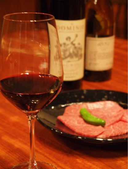 国立に大人のための寛ぎ焼肉レストラン発見*A5ランクの銘柄黒毛和牛とワインを堪能♪