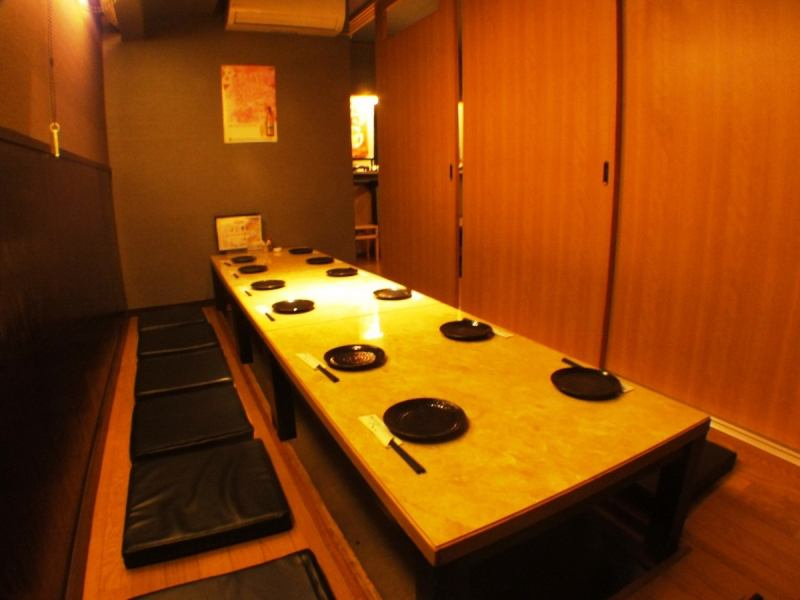 Popular digging kotatsu seats also we will correspond partition in accordance with up to 30 people housed OK! Charter to 20 people to a large welcome ☆ number of people!