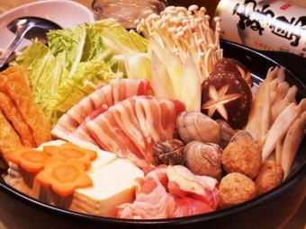 全友暢飲無限小時★10種火鍋選擇套餐3000日元
