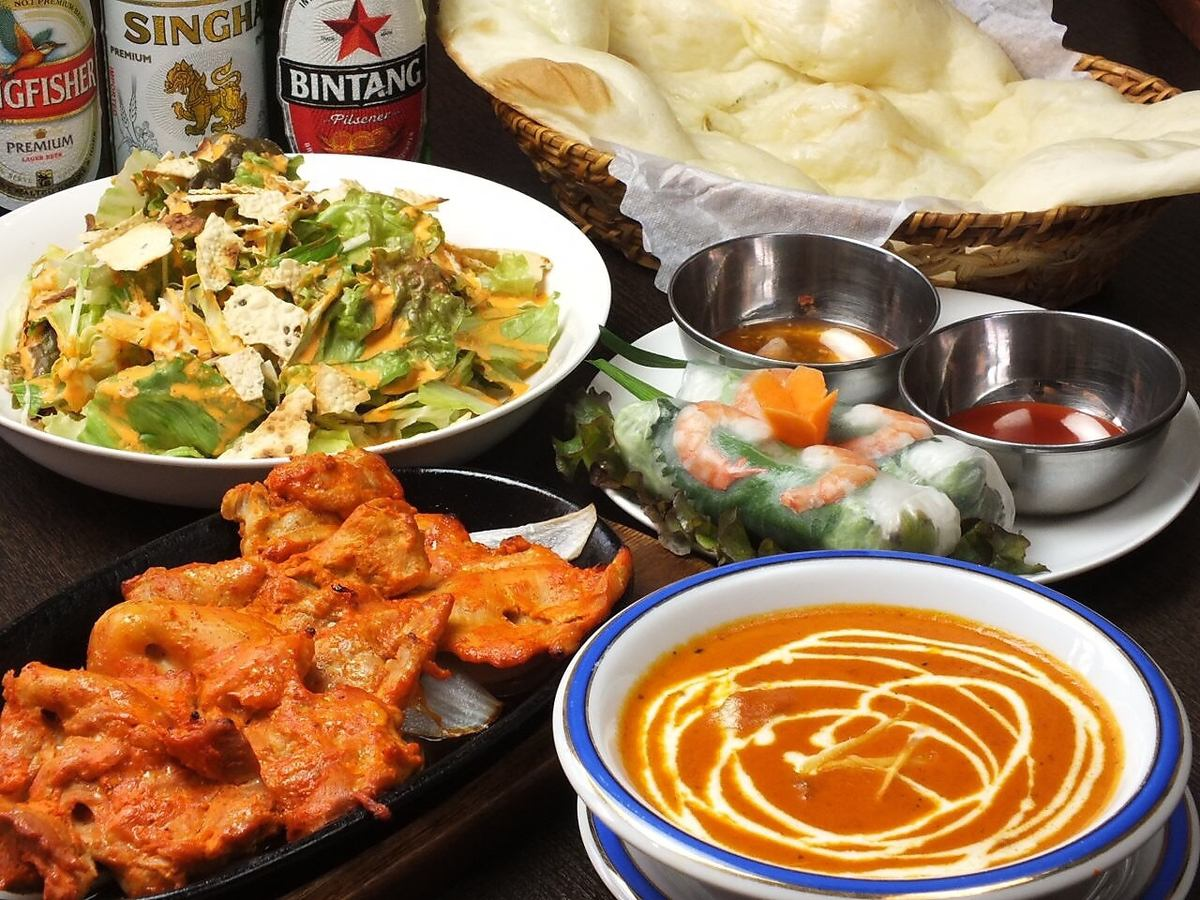 Indian restaurant where you can taste spicy tandoori dishes and curry