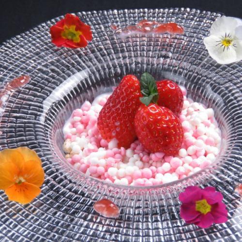 ディッピンドッツアイスクリーム〈プレート〉