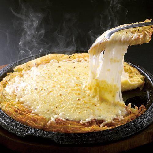 チーズジャガイモチヂミ