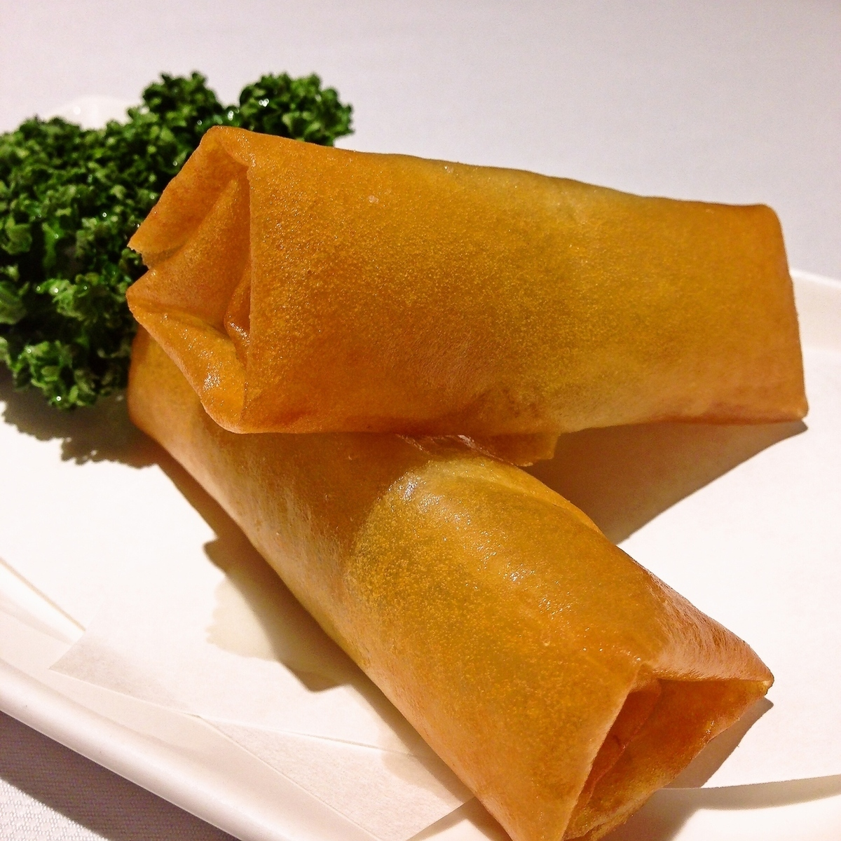 Fifth spring roll (two)