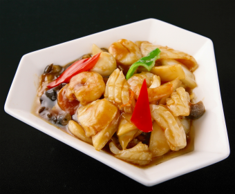 八宝菜 (醤油味 or 塩味)