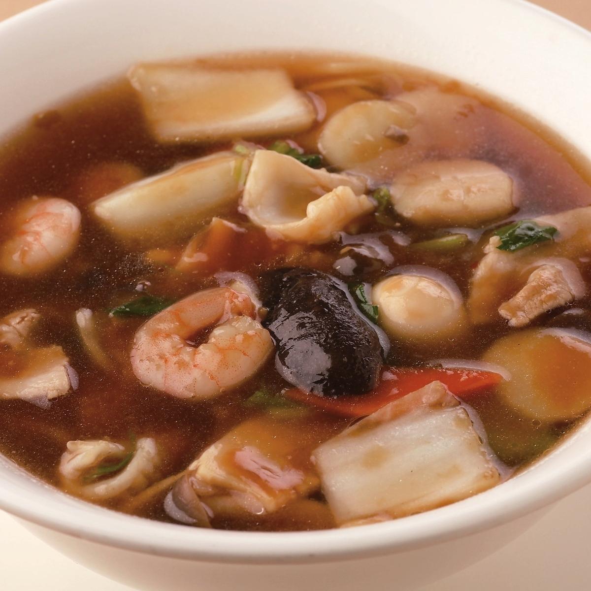 五目あんかけスープ麺