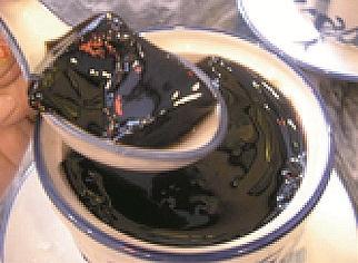 피부 홍콩 黒蜜亀 젤리