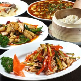 120 minutes All you can drink ◆ For various banquets 【Chinese Banquet Course】 3500 yen (7 items in total)