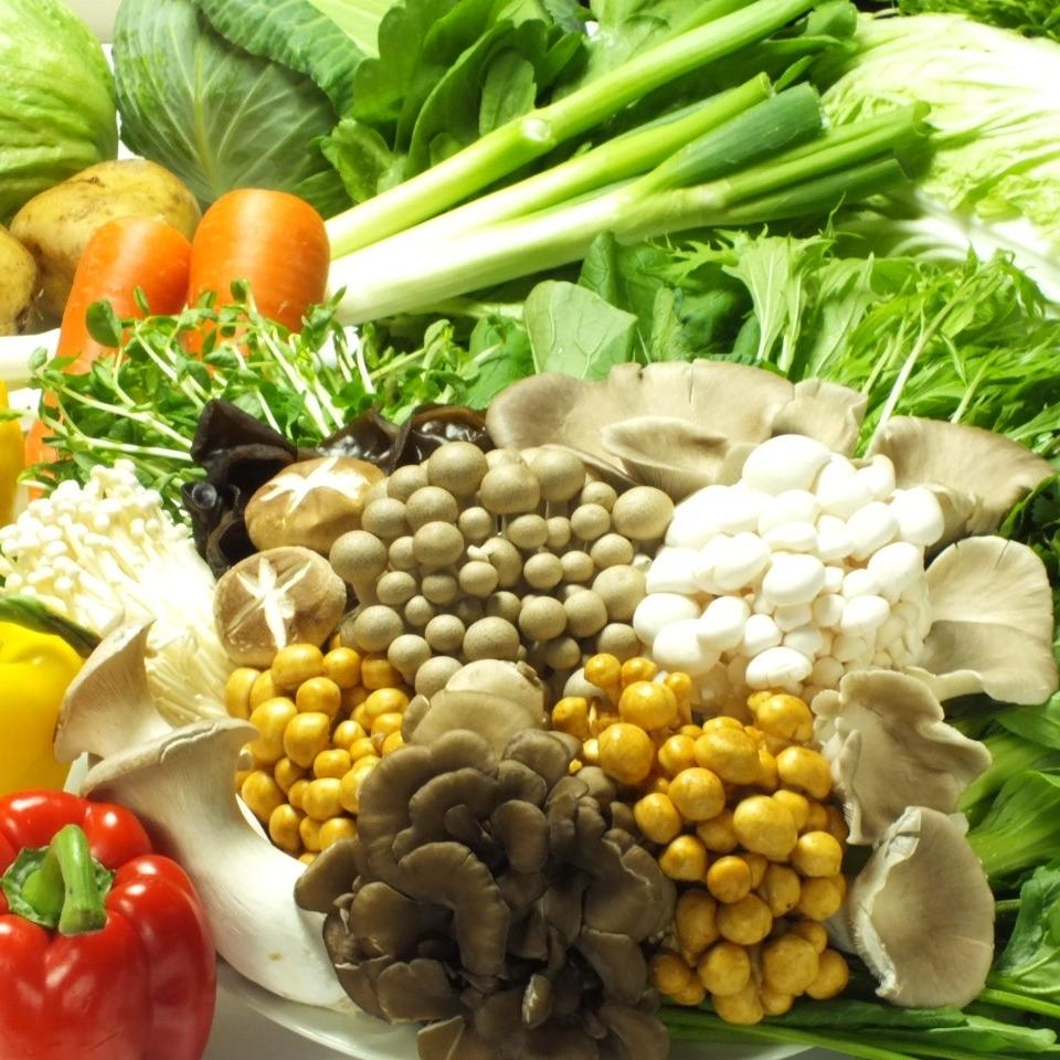 Haruna菊花/大白菜/ Chingen蔬菜/菠菜/豆芽/土豆/捲心菜/豆籽/ Pakuti