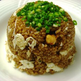 Soy sauce fried rice