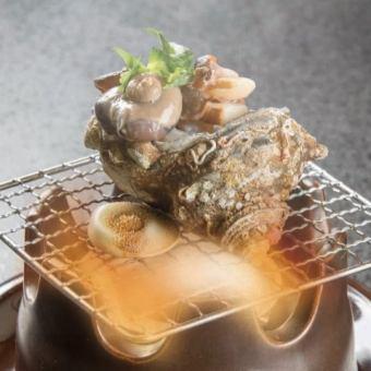 Grilled Sazae
