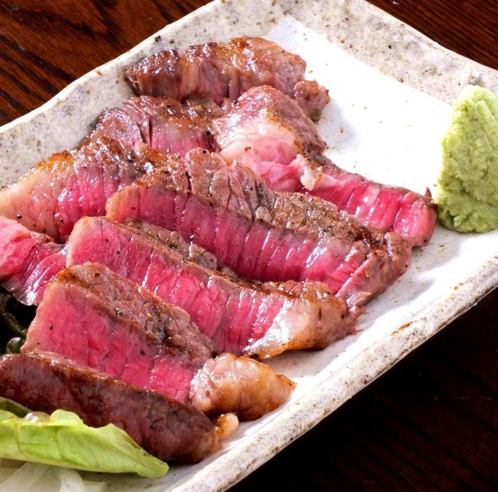 靜岡特別和牛牛肉靜岡醬油烤牛排