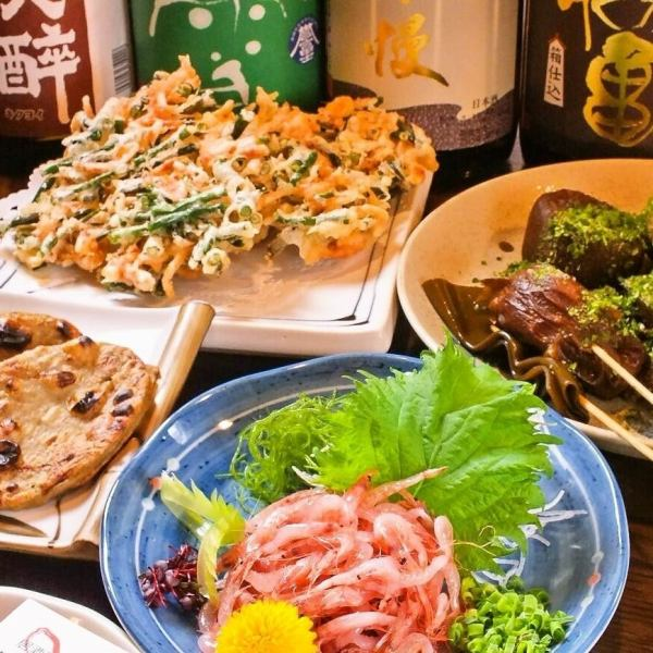 There is abundance in Shizuoka's taste! Cherry shrimp / 鮪 カ マ / Fujinomiyaki fried noodles etc. ♪