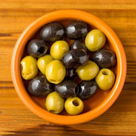■ Heavy olives
