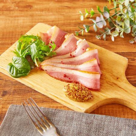 Duck loin meat ham