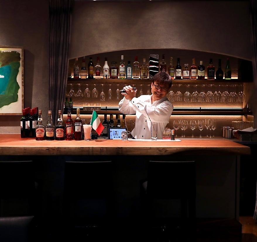 像花式酒吧這樣的櫃檯也可供選擇。即使是一小群人,也請隨時與我們聯繫。※並且受歡迎也舉行現場活動。1月12日16日18日25日2月1日