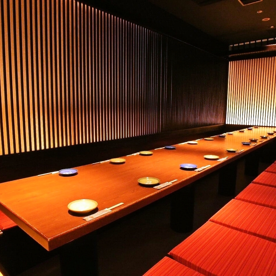A dining room for 20 guests ♪ In a banquet at a company ◎ It is a modern private room where you can relax at ease.