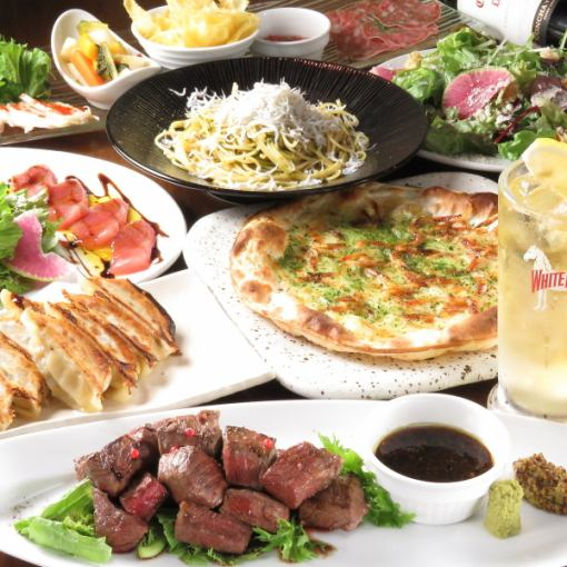 Shizuoka tapas course with main choice 4000 yen (with 90-minute all you can drink)