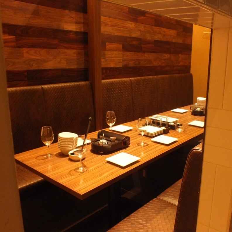 Private room space for 8 people.♪ luxuriously luxuriously ♪ Please use this popular private room when you want to decide a little fancy at night ♪