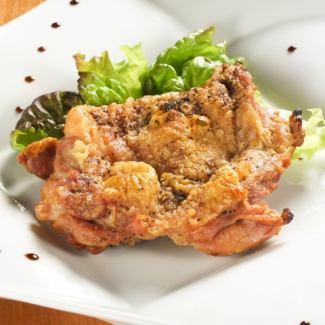 점보 닭 허벅지 스테이크