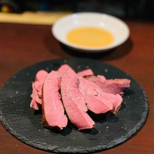 低温調理のプリップリ絶品豚ハツ