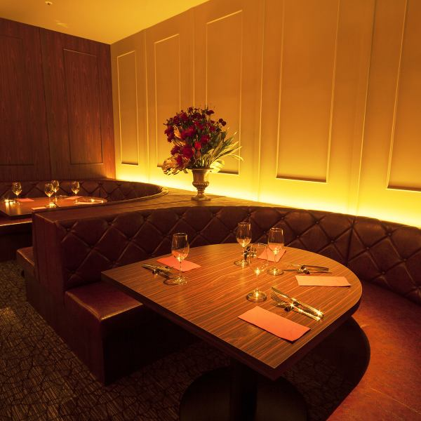 We can enjoy the GYOZA in a round sofa seat / space of the calm atmosphere of the best to date.
