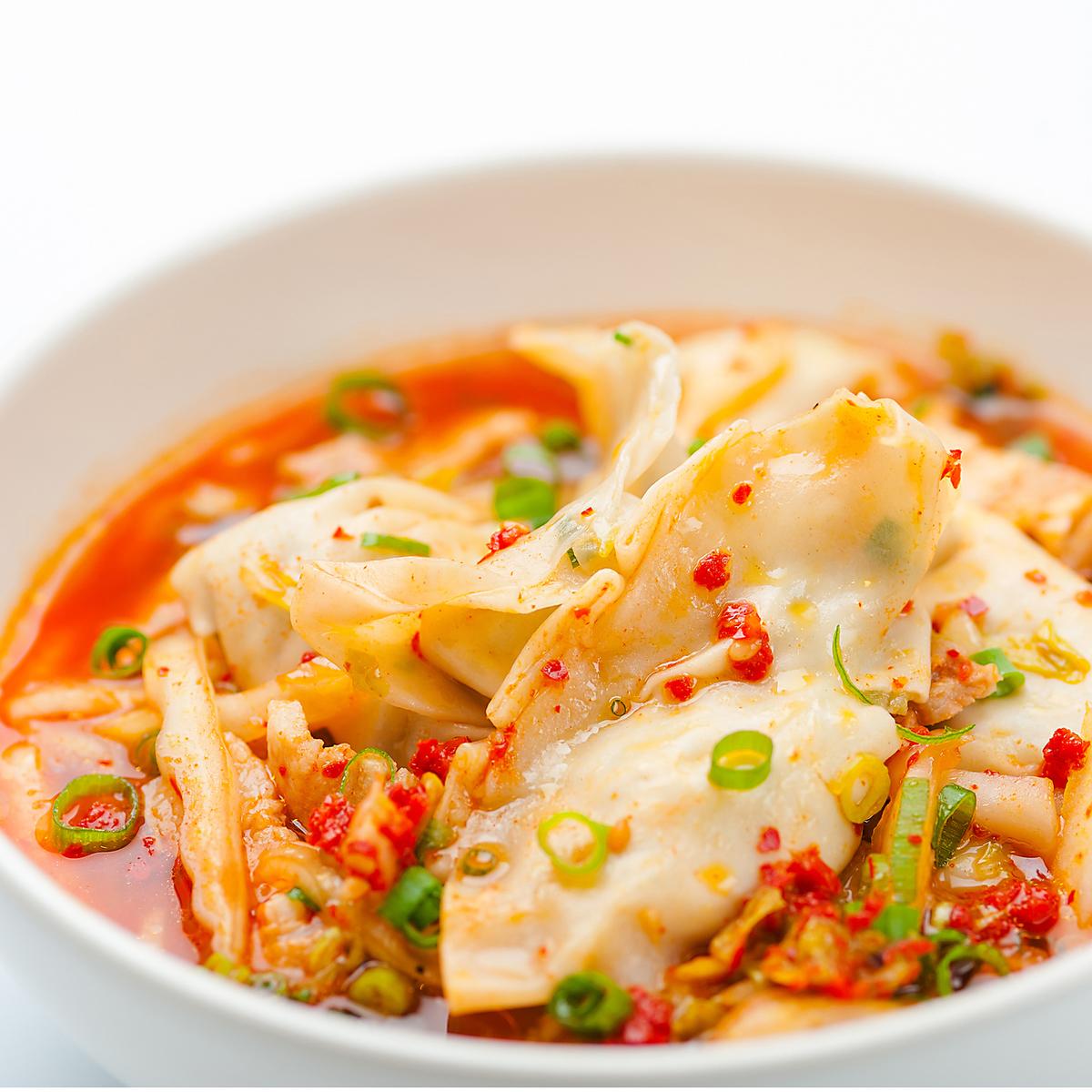 辛スープ餃子