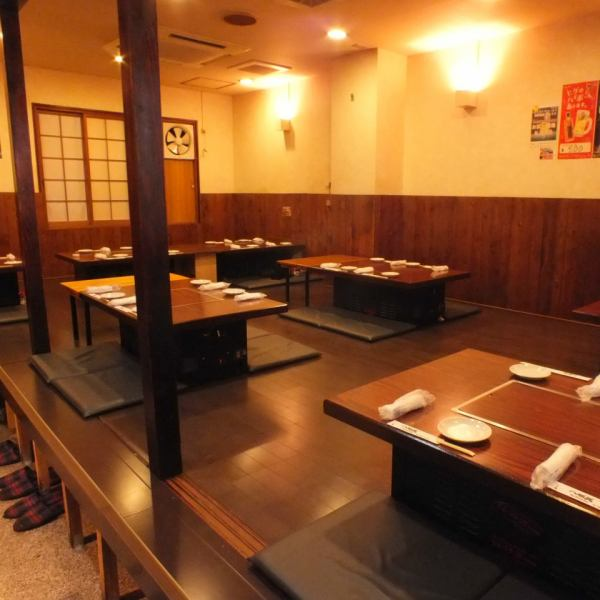 Ozaki can accommodate up to 34 people ☆ It is very popular for various banquets and launches, etc. We can have 20 people on weekdays and more than 25 people on Friday, Saturday and public holiday the day before.Please do not hesitate to consult! Reservations for charter will be made as soon as possible ♪