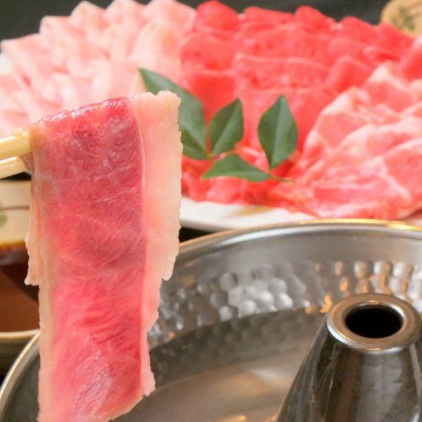 """""""All-you-can-eat Shabu-shabu 2 hours"""" + 3 Izakaya menu items """"All-you-can-drink 2 hours""""!"""