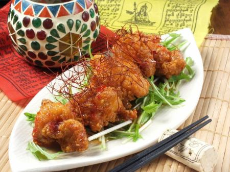 Deep-fried chicken Asian