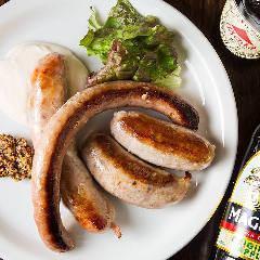 Assorted Sausage ソーセージ盛り合わせ