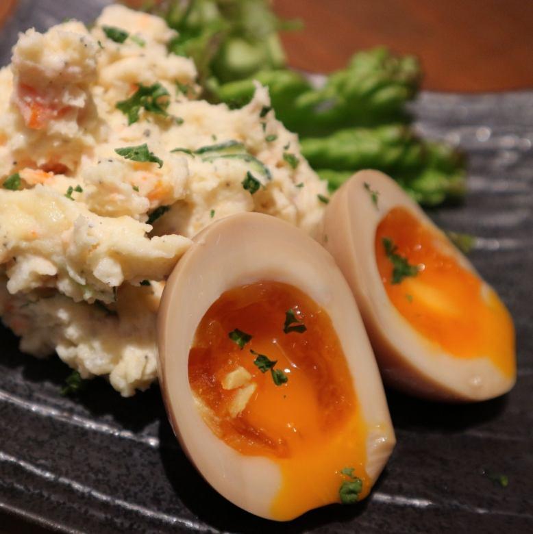 软煮Nitamago土豆沙拉