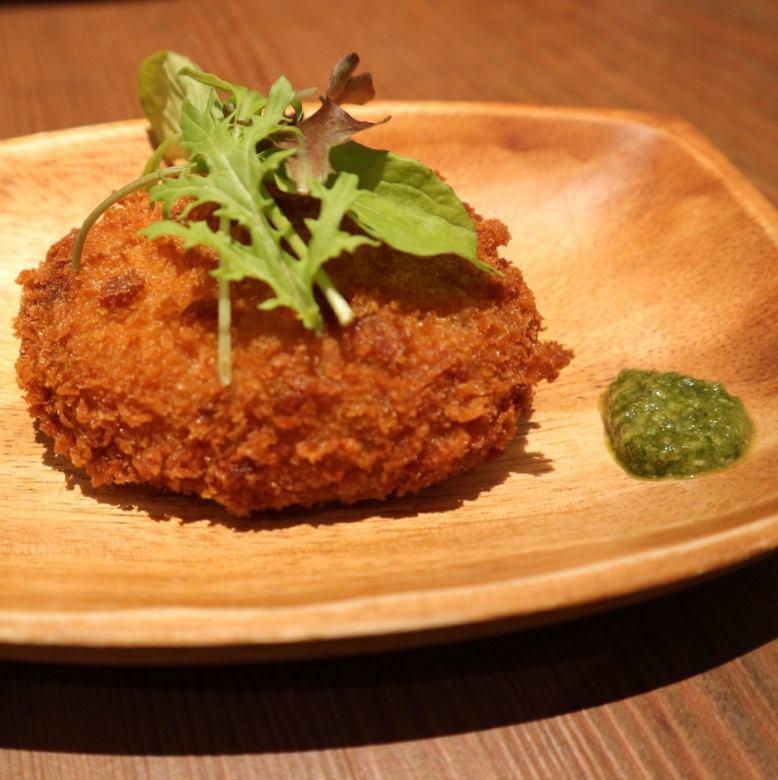 Murotsu oyster creamy croquettes