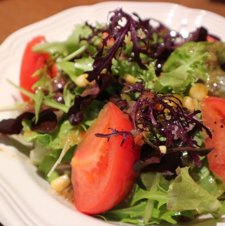 Italian salad of KadoTsumoru plantation