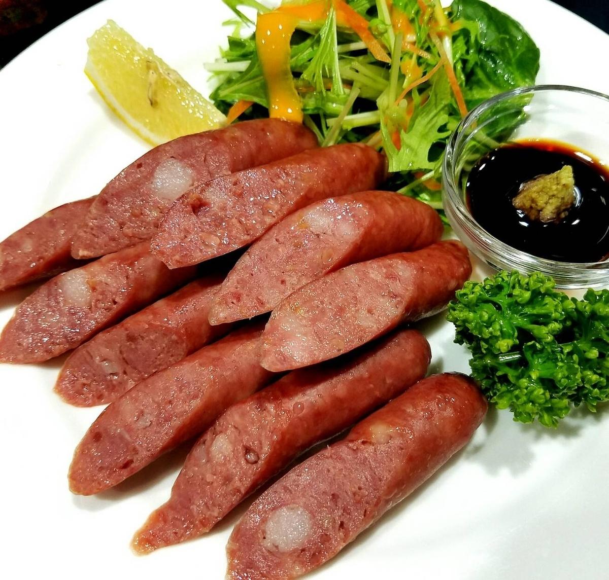 马肉熏肉香肠