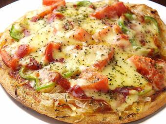 原始披萨/烤芝士番茄