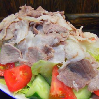 猪肉沙拉沙拉/蔬菜沙拉