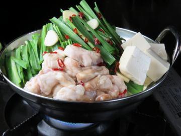 もつ鍋・焼き鳥・北海道産甘エビのつかみ取りは自在博多店の人気メニュー