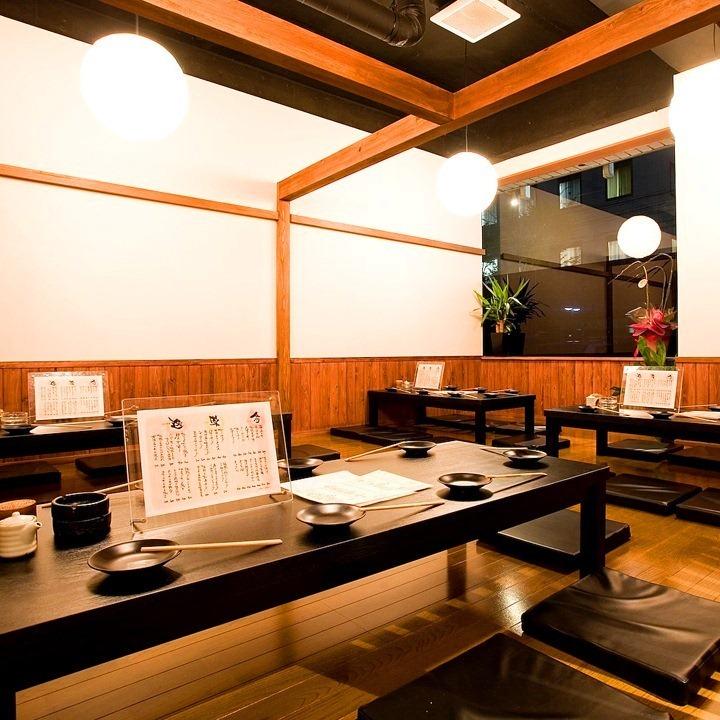 您可以根据宴会,发布,第二方等各种场景使用它。松屋私人房间可容纳15人到28人。