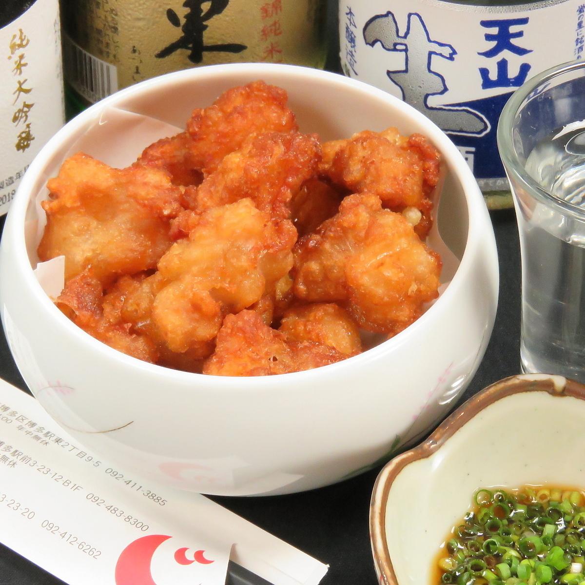 닭고기 튀김 / 무엇 뼈 튀김 / 톤토로 튀김